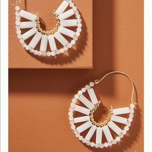 Anthropologie Hoops